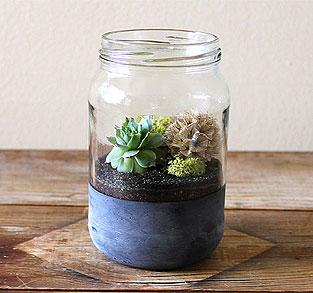 """Midsize """"Chalkboard"""" Jar"""